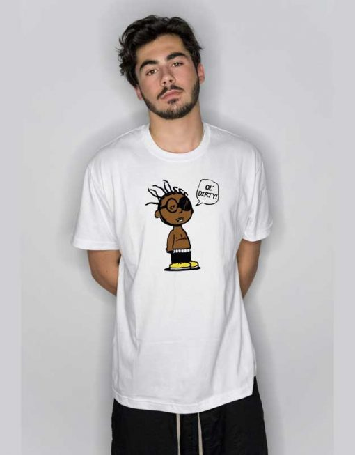 Funny Ol Dirty Brown Cartoon T Shirt