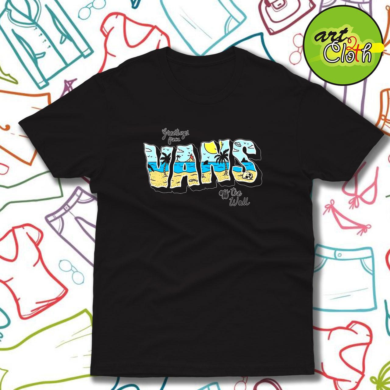 vans summer 90s t shirt custom t shirts design art2cloth com art2cloth com